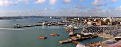 Southampton Docks 6. Panorama. Nikon D300s.  DSC_6176-6185
