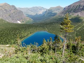 Pitamakan lake - Glacier national park