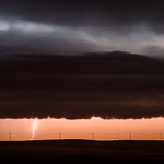 6. August 2015 - 13:48 - My second night of camping in Kindersley saw one of the biggest thunderstorms of the year and I sad huddled in my tent all night.  But not before getting some good shots of prairie lightning.    Kindersley, Saskatchewan August 2015