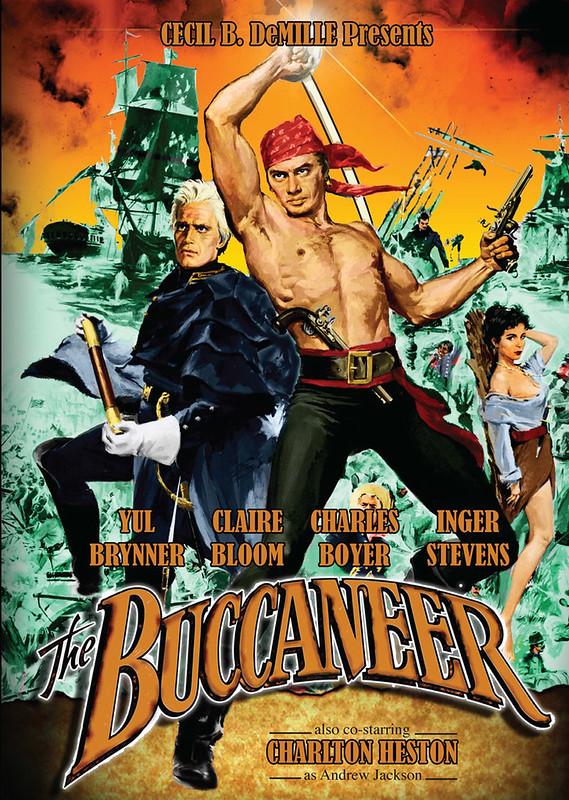 The Buccaneer - 1958 - Poster 5