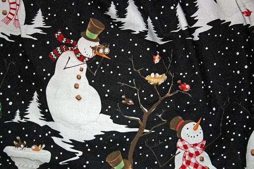 The most awesome snowman on my snowman skirt