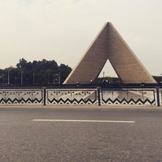 #Egypt's unknown solider memorial in #Cairo #citizenjounalism #blogger #ThisisEgypt