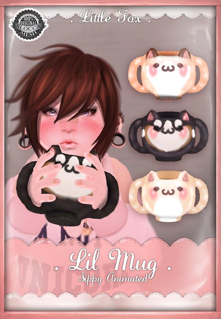 . Little Fox . Lil Mug - SecondLifeHub.com