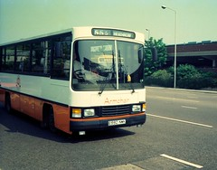 Armchair Leyland Swift, E990 NMK