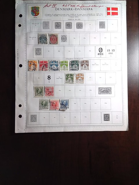 Lot of Denmark Stamps 2 by StampPhenom.com