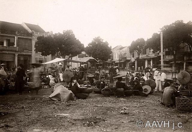 AP3304-Despierres - Hanoï, 1931 - Marché en plein air - Chợ ngoài trời ở khu phố cổ Hà Nội