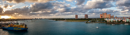 nassau bahamas paradiseisland newprovidence sunny sky clouds