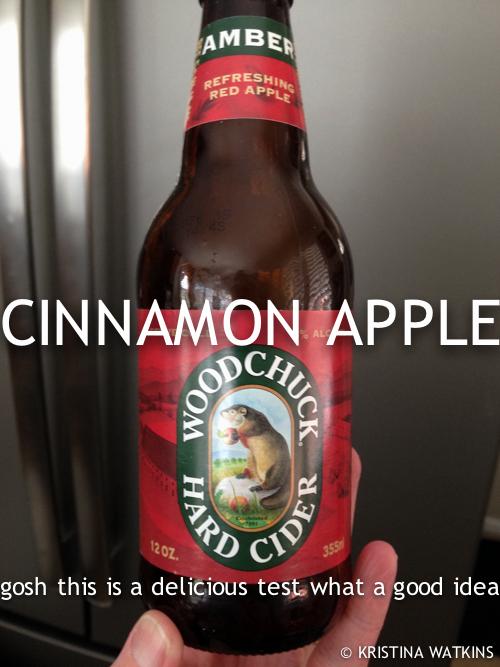 Cider Test - 2 Woodchuck Amber