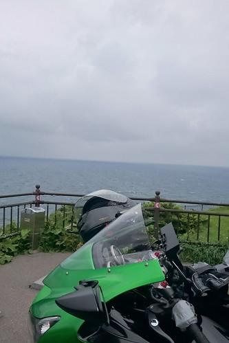 立待岬にて