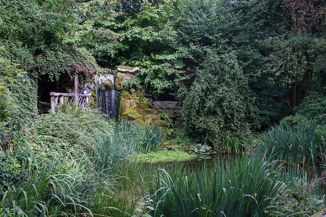 Sunken Garden at Hampton Court