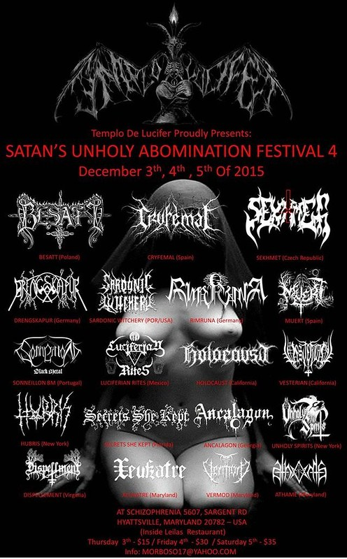 Satan's Unholy Abomination Festival 4