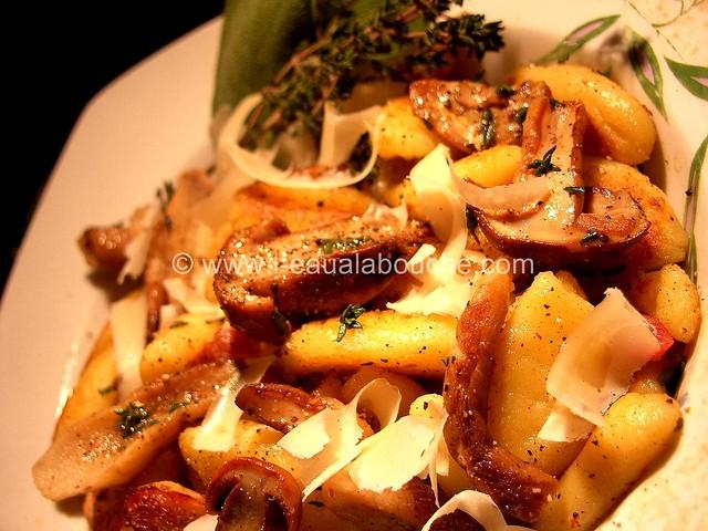 Gnocchi aux Cèpes à la Sauge &Thym © Ana Luthi  Tous droits réservés 13