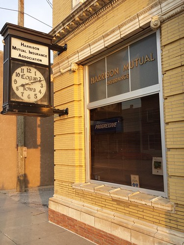 clock bank iowa logan us30 lincolnhighway nationalregister nationalregisterofhistoricplaces harrisoncounty