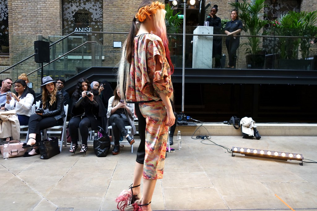 Lucy Treadwell, Oxford Fashion Studios, London Fashion Week SS16, Devonshire Square