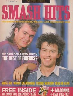 Smash Hits, September 25, 1985
