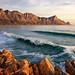 Kogelbaai Waves Sunset by Panorama Paul
