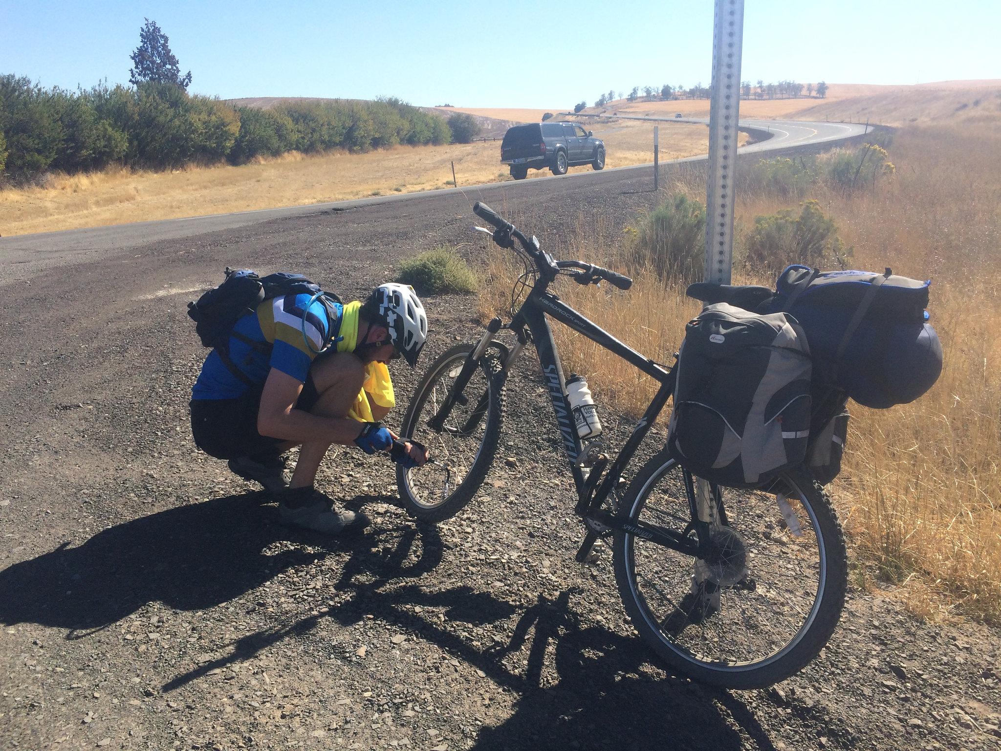 Gunsight Ridge - Oregon Bikepacking
