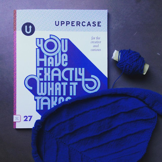 Uppercase magazine+#knitting = two of my favorite things. I'm really happy to share that I have an article about why I love to teach how to knit over on page 101. Thanks for the invitation, Janine! @uppercasemag #uppercasereader #uppercaselove