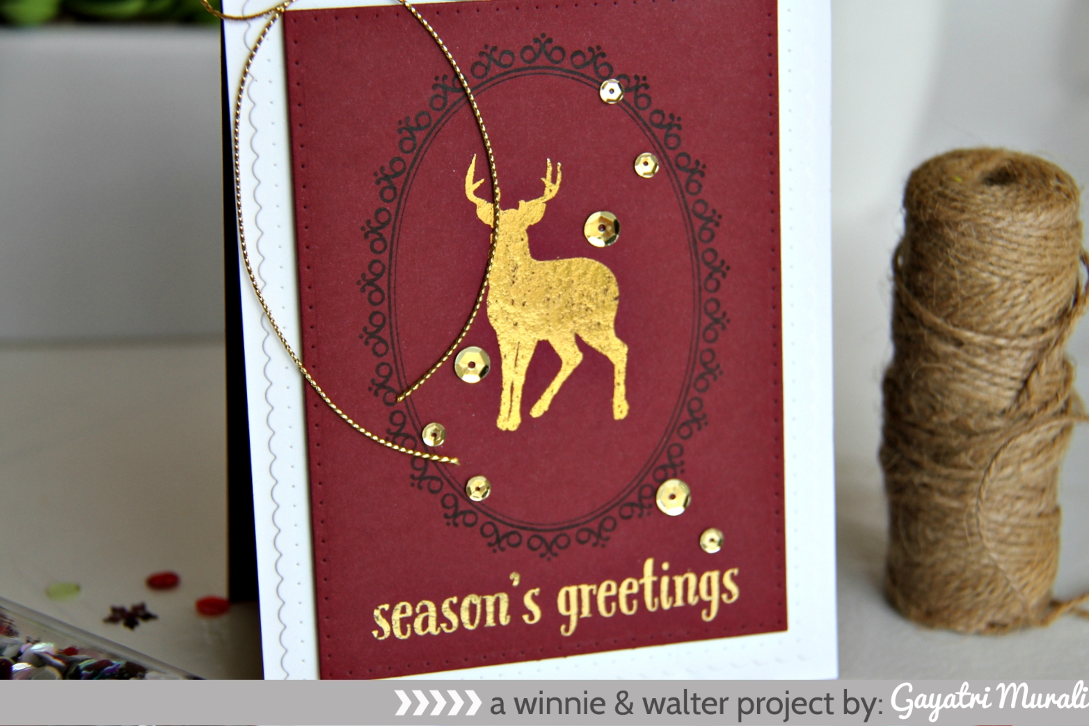 Season's Greeting closeup1