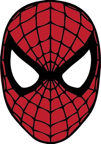 marvel black cat mask template - spiderman cartoon mask