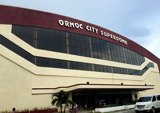 The newly rehabilitated Ormoc City Superdome - June 2015