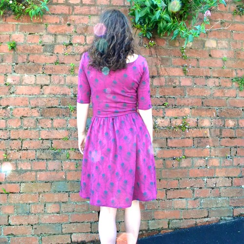 Purple Moneta Dress