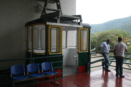 Cable car to Mount Isabel de Torres / Seilbahn zum Mount Isabel de Torres