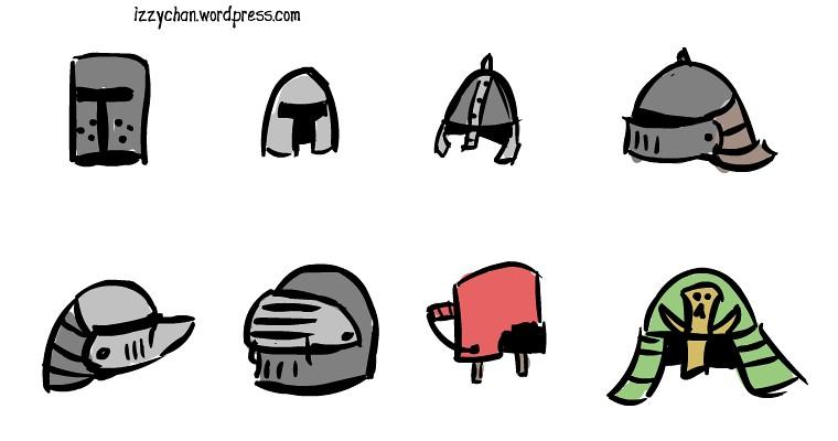 medieval helmets bucket