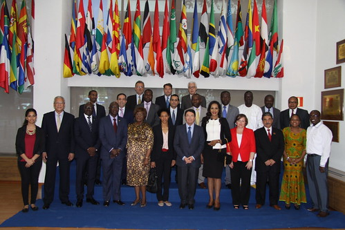 UNWTO Annual Meeting and Lunch for African Ambassadors, (UNWTO Headquarters, Madrid, Spain, 2 October 2015)