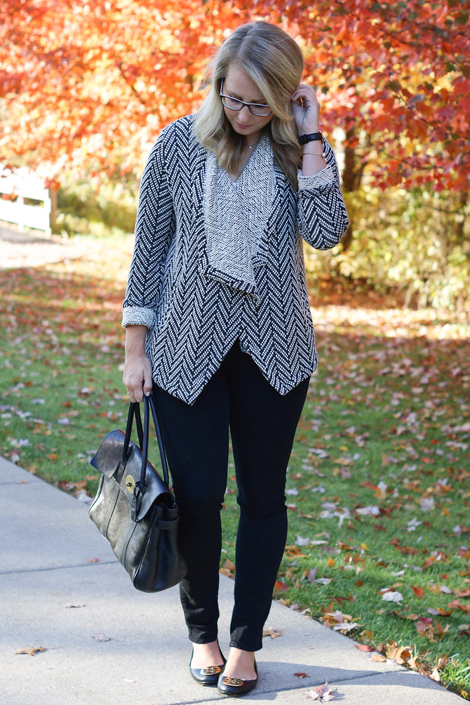 Edie Chevron Sweater