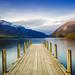 Serene Lake Rotoiti by robjdickinson
