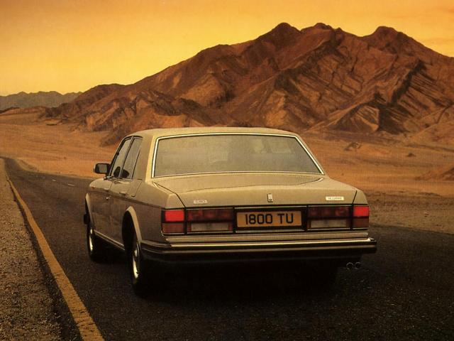 Седан Bentley Mulsanne I. 1980 – 1987 годы
