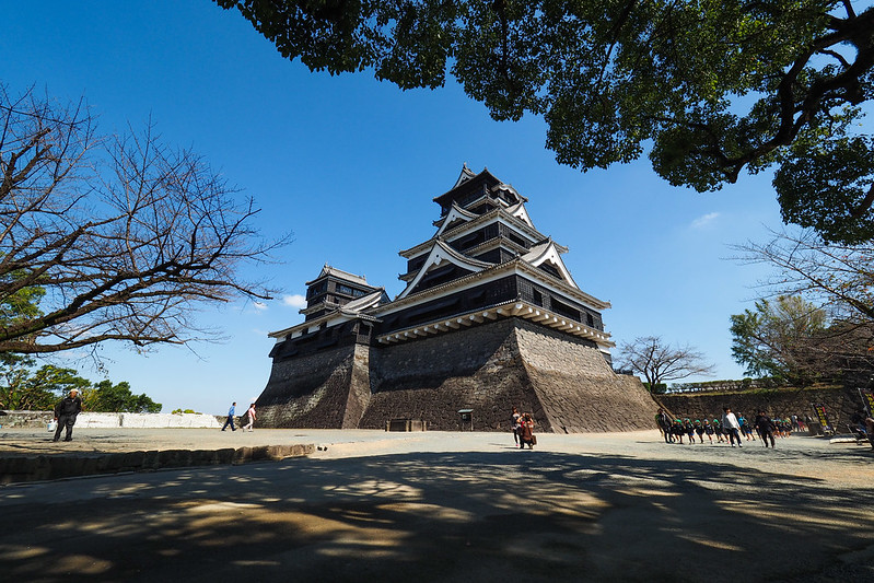 Kumamoto castle 熊本城|日本 九州 Jpana kyushu