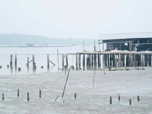 124 fishing village Sepetang  - 十八丁,没落的渔村