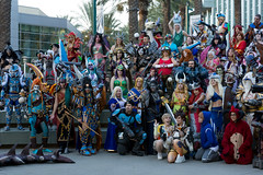 Cosplay group photo