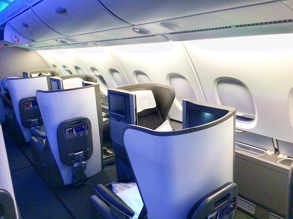 ba6f84080a25 British Airways – Flying in the BA Business Class section on a massive  A380
