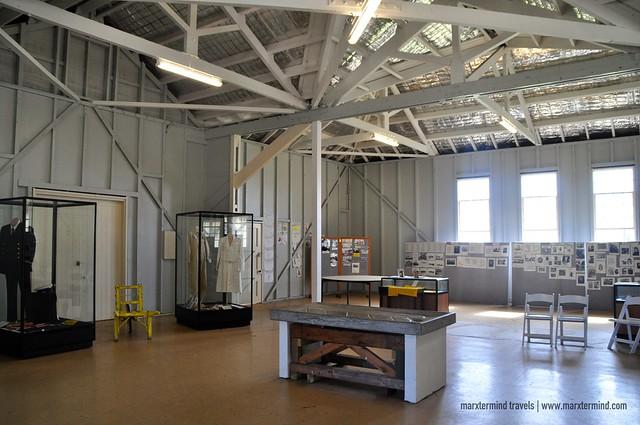 Inside Quarantine Station Port Nepean National Park