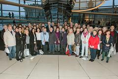 Besuchergruppe aus dem Betreuungswahlkreis am 16. November 2015 in Berlin