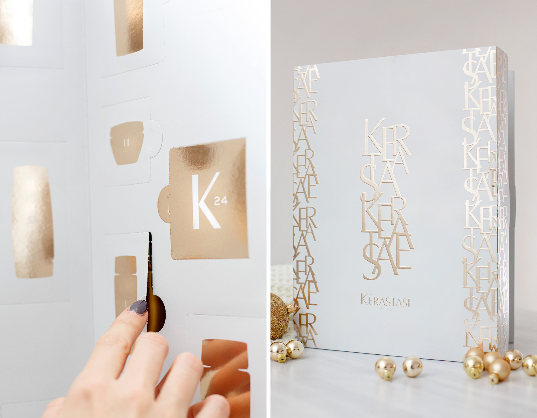 kérastase adventskalender advent calendar golden christmas shiny luxury hair care haircare beautyblogger white christmas winter look beautiful glamorous geschenk gift cats & dogs fashionblog ricarda schernus beauty blogger 5