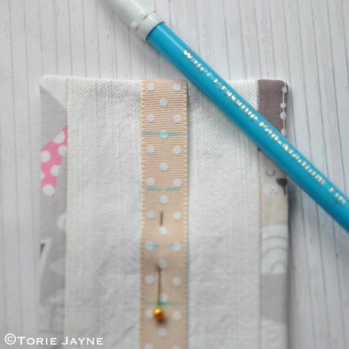 DIY bobby pin holder tutorial 13