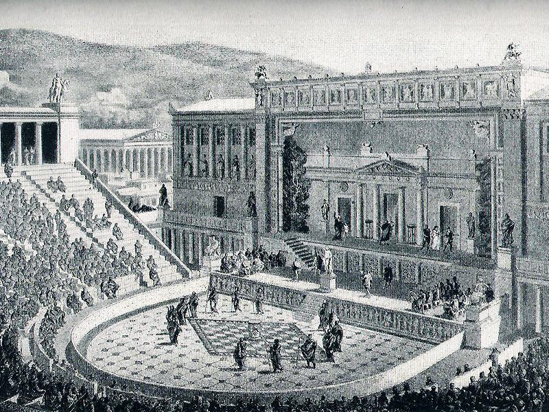 Reconstrucción del Teatro de Dionisio