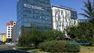 Hotel Falkensteiner, New Belgrade, Belgrade, Serbia, August 2014; Novi Beograd, Beograd, Srbija, avgust 2014. godine.