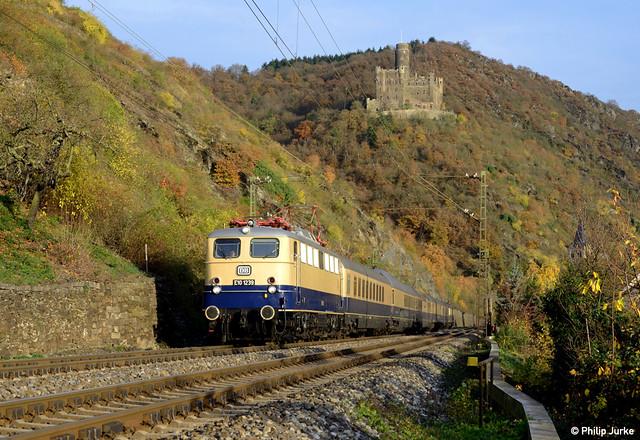 E10 1239 I [DE] Zwischen St. Goarshausen und Kestert I 08.11.2015