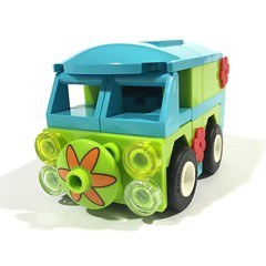 Lego Dimensions mini Mystery Machine with modifications
