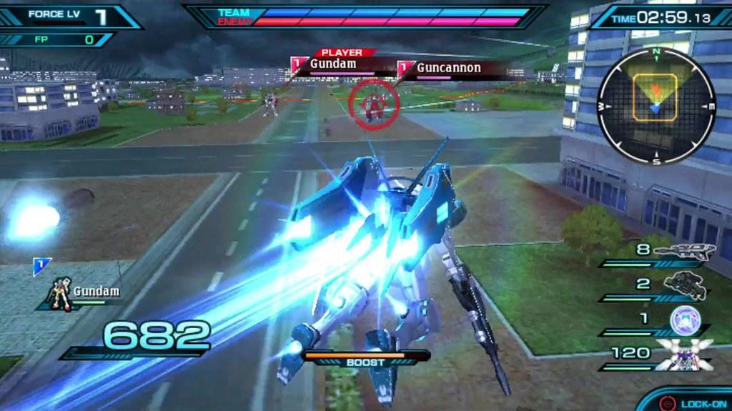 Mobile Suit Gundam Extreme VS Force 01