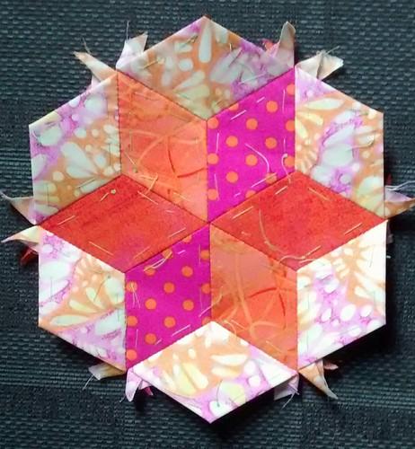 hexagon star number 33