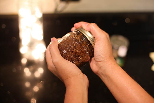 Super simple 3 Ingredient Homemade Sugar Scrub for the face and body