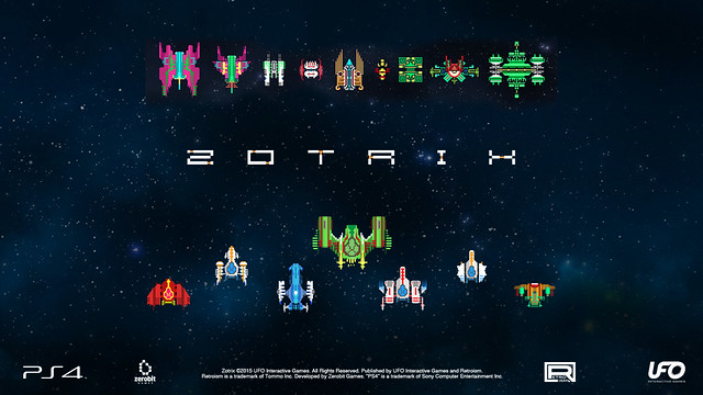 Retro Shooter Zotrix Out Today On Ps4 Playstation Blog Latam