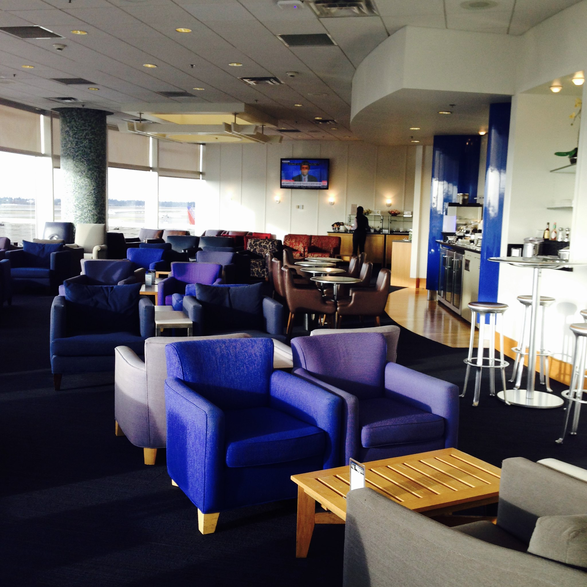 Seattle British Airways Terraces Lounge