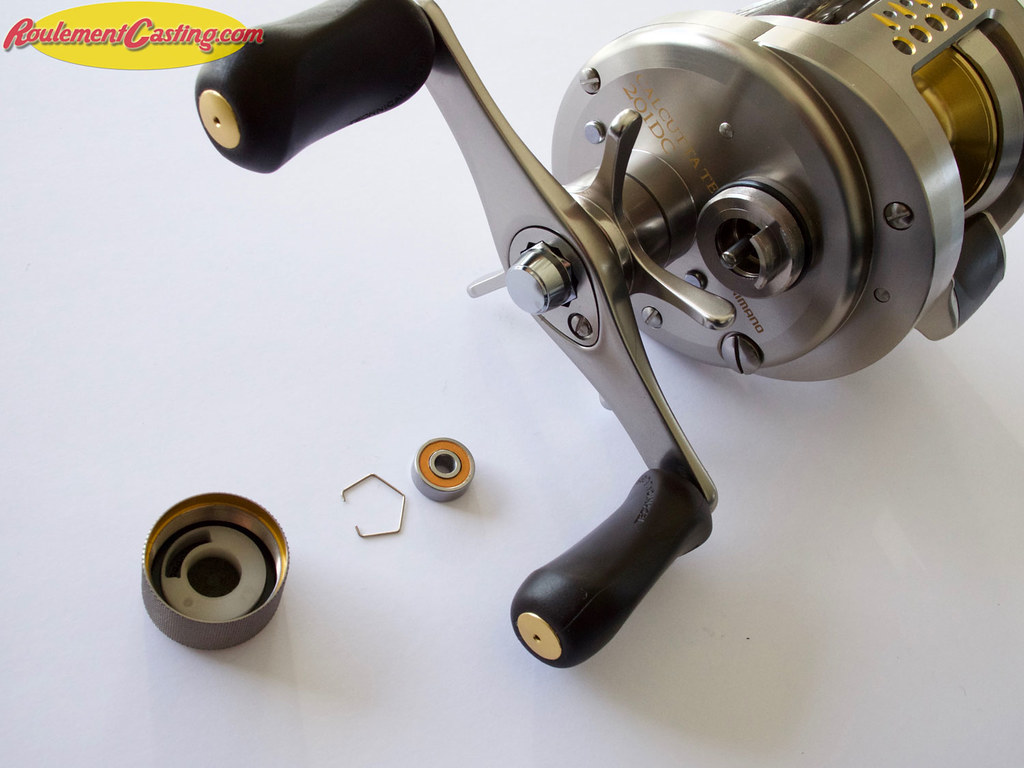 Shimano Calcutta 201DC Spool Bearings Upgrades #10